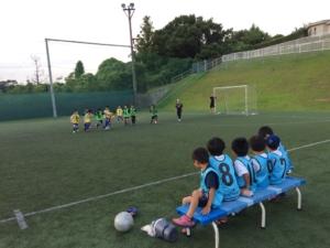 U8ミニサッカー交流マッチ開催